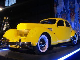 1937 Cord 812 Yellow