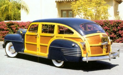 1942 Chrysler Windsor Town & Country Woody Station Wagon
