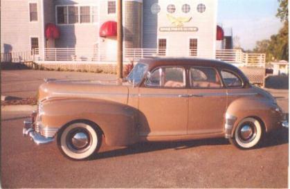 1947 Nash Ambassador Deluxe, Trunk Back, 6 cyl