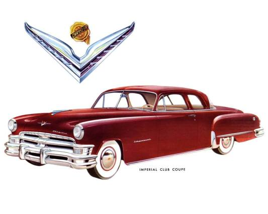 1951 Chrysler & Imperial brochure