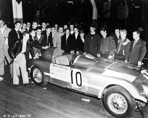 1952 Nash Healey LeMans Race Car Factory Photo c7667