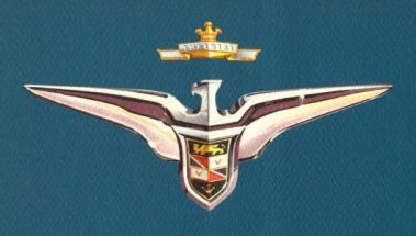 1956 chrysler imperial emblem