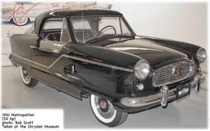 1961 Nash Metropolitan cars