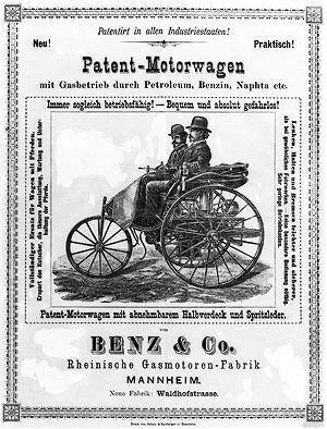 1886 Mercedes Benz Motorwagen Daimler Benz AG