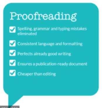 Nursing Paper Editing & Proof Reading