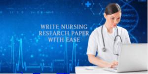 Nursing research paper Conclusion