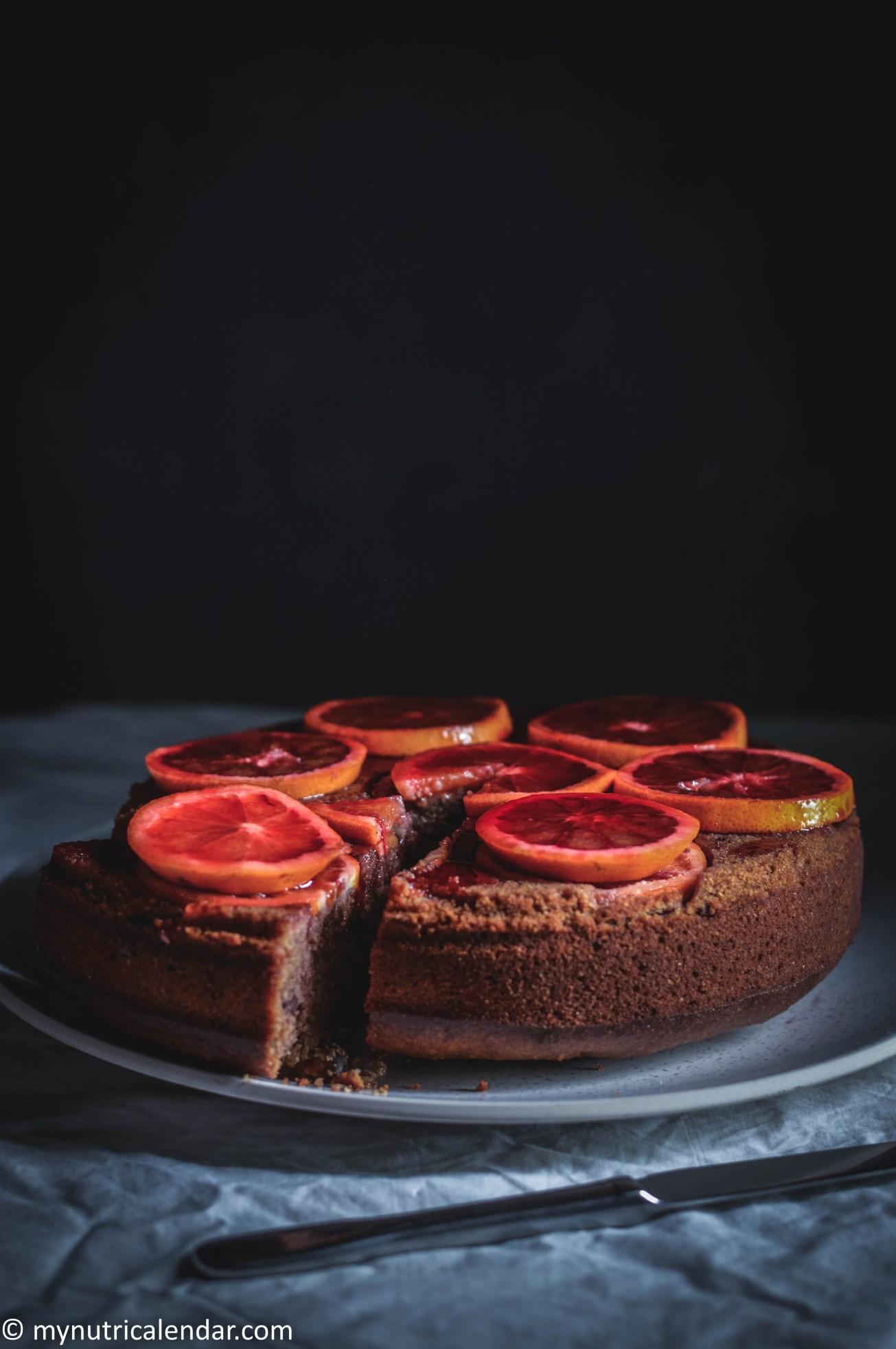 blood-orange-cake-chocolate-chips-raisins-no-sugar-6