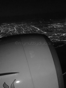 Through an airplane window - haven't a clue where I was coming in to land