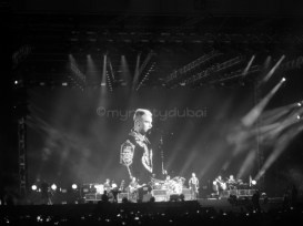 Music at concerts - Robbie Williams
