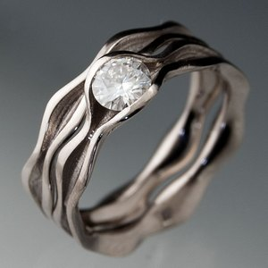 wave-wedding-rings-outer-banks-wedding-miinister