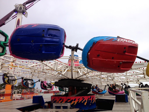 One of the rides.