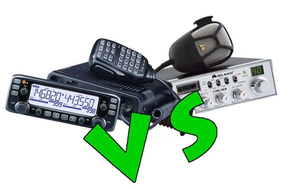 Ham Radio vs CB