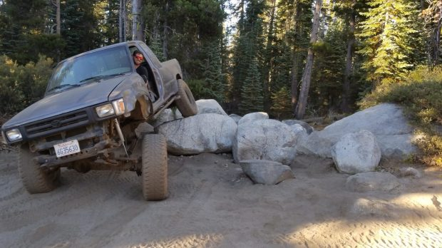 Barrett Lake 4x4 Jeep Trail