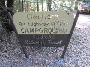 Cleghorn Bar Campground
