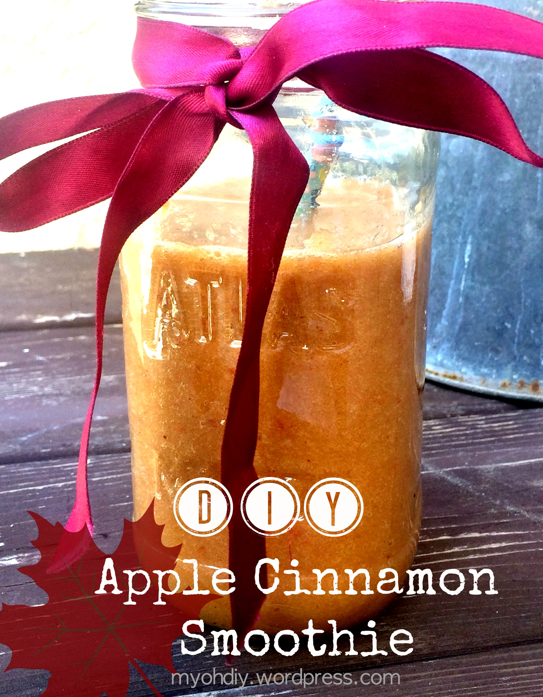 DIY Apple Cinnamon Smoothie