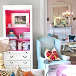 The Pink Cabinet