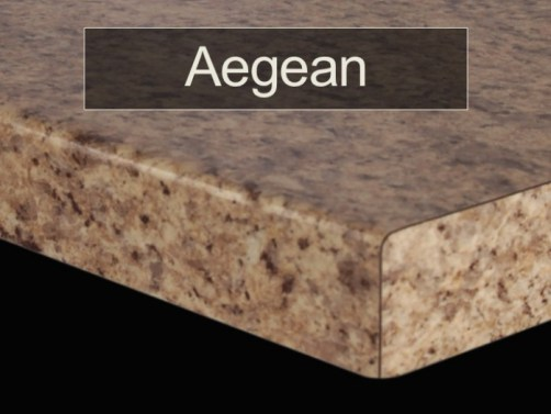 AEGEAN EDGE - FORMICA COUNTER TOPS