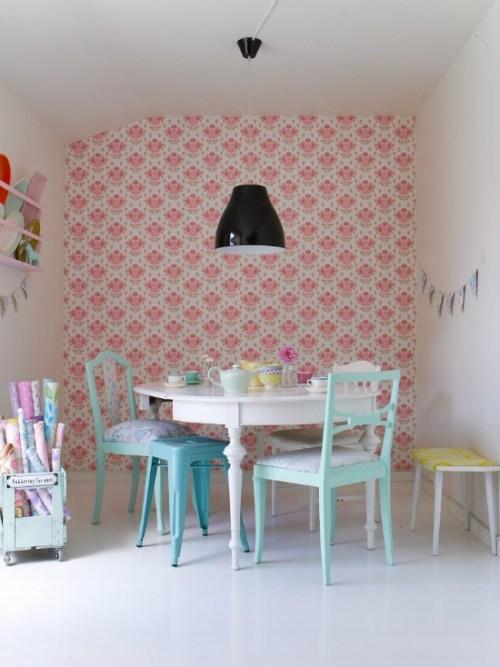 Pastel kitchens - Cake tolix ...