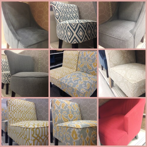 Gentil FROM TOP LEFT: Threshold™ Swoop Chair   Velvet Overcast, Threshold™ Swoop  Chair