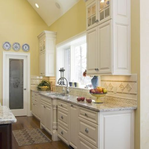 Pale Yellow Country Kitchen: THE BEST INTERIOR YELLOWS