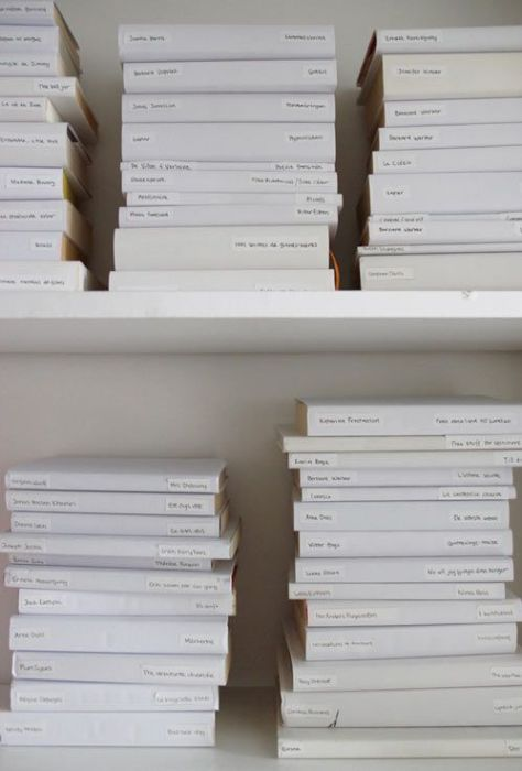 REMODELISTA - WHITE BOOK JACKETS