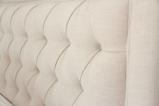 "Giselle Tufted headboard from BALLARD DESIGNS in Trilby Basketview""natural"""