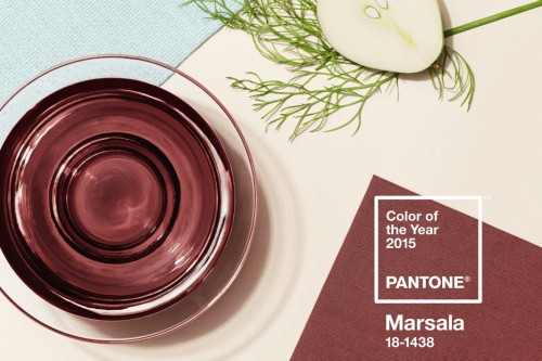 Pantone2015 COLOR OF THE YEAR MARSALA