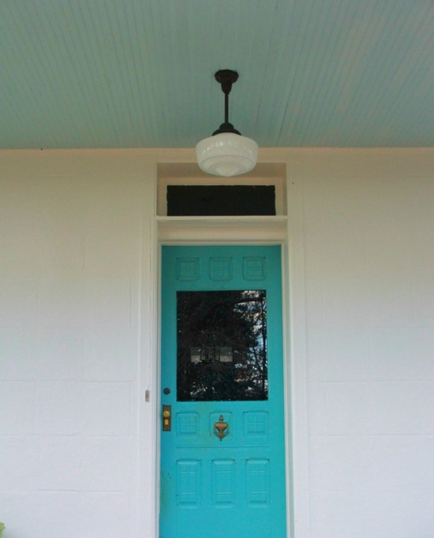 Monday makeover paint the front door for Benjamin moore virtual paint