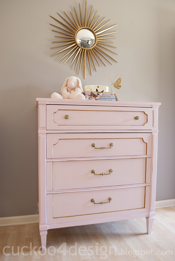 THIS DRESSER IS INSPIRING TO ME...SOMETHING ABOUT IT FEELS RELEVANT AND SWEET.