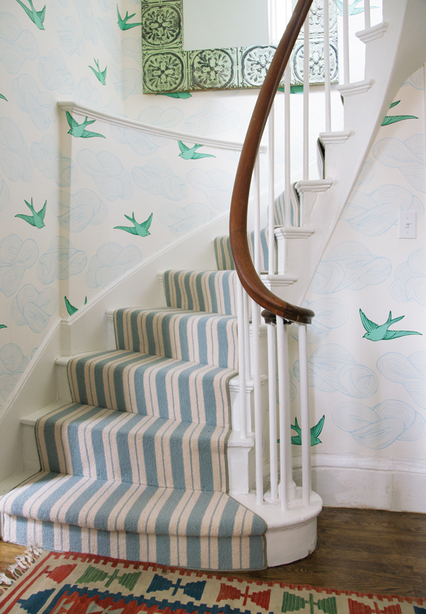 Trend  BEACON HILL ENTRYWAY IN DAYDREAM GREEN