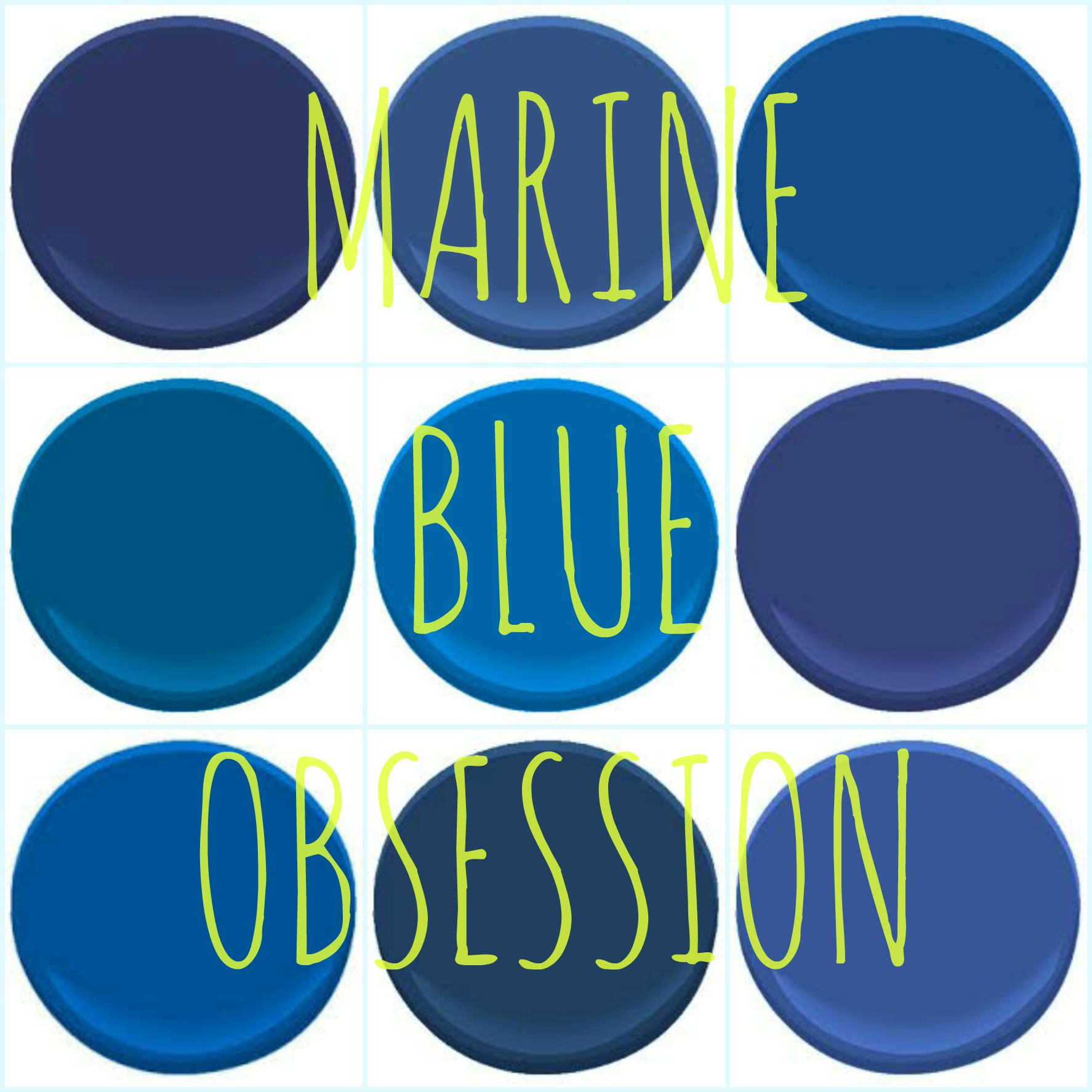 color obsession marine blue