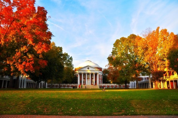 THE UVA ROTUNDA IN THE FALL...WHEN TATE WAS IN PRE-SCHOOL, COOPER WAS A NEWBORN , PHOEBE WAS 2..AND SOME DAYS WHEN I WOLD PICK UP TATE FROM SCHOOL....I WOULD BRING THE STROLLER AND WALK WITH THEM OVER THE THE LAWN...WE HAVE SPENT SO MANY FALLS THERE.