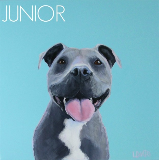 PET PORTRAIT OF JUNIOR MILAN