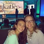 PHOEBE AND I AT THE KATIE COURIC SHOW