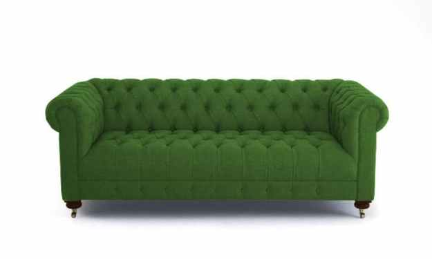 JOYBIRD THEO SOFA IN KEY LARGO KELLY GREEN