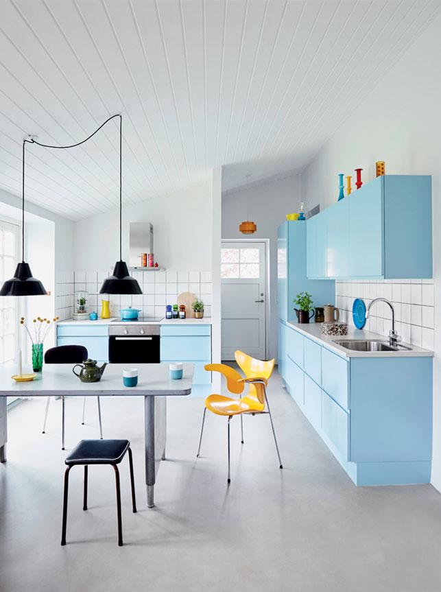 Køkkenet er fra JKE Design