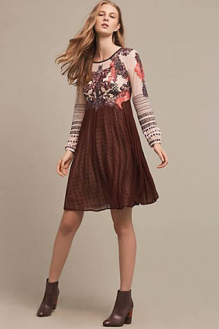 EASTBERRY DRESS ANTHROPOLOGIE