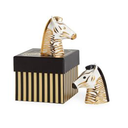 JONATHAN ADLER SALT AND PEPPER SHAKERS