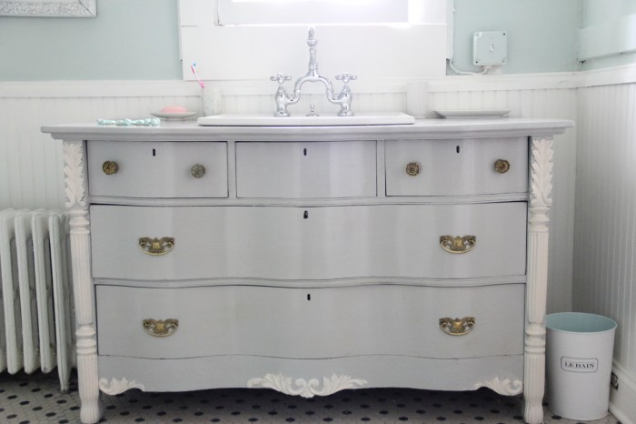 MASTER VANITY - DRESSER TURNED INTO VANITY