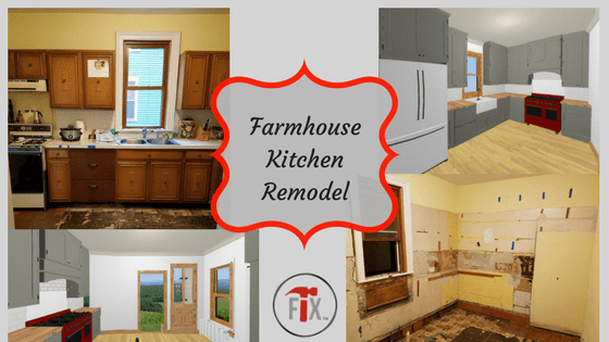 "My Old House""Fix"" Farmhouse Kitchen Remodel: Part 3 – Execution, Phase I"