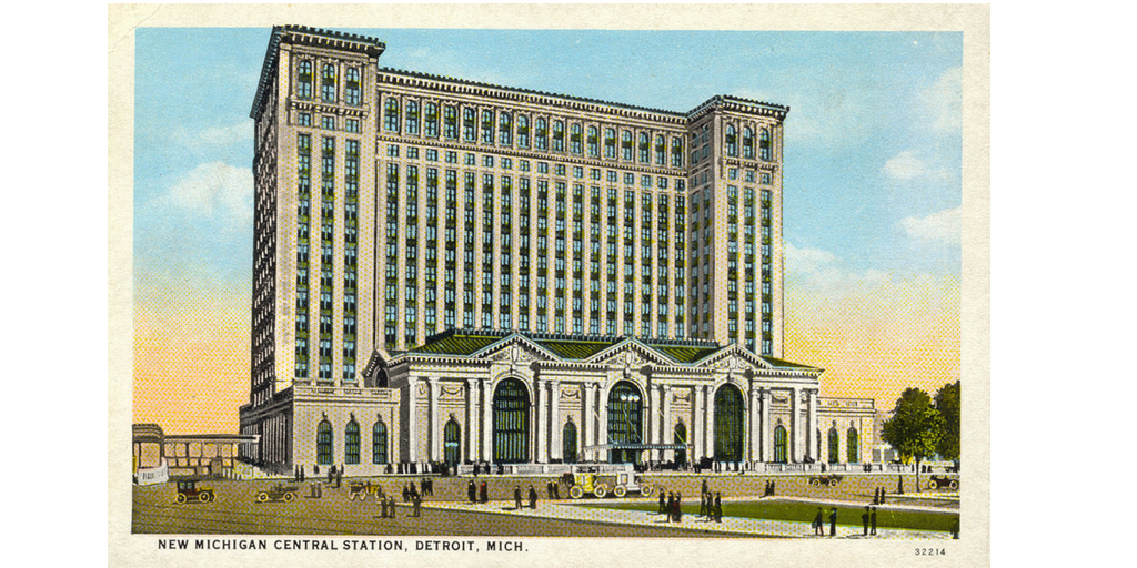 Detroit's Michigan Central Station – Ford's Next Stop via @myoldhousefix