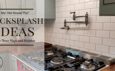 Kitchen Backsplash Ideas: 3 Steps to Hide Those Plugs and Switches