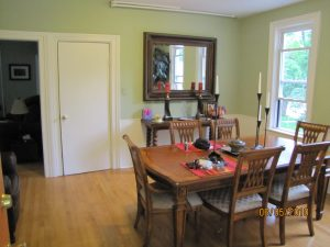 I Int-19 (dining to basement view, old porch door at mirror)