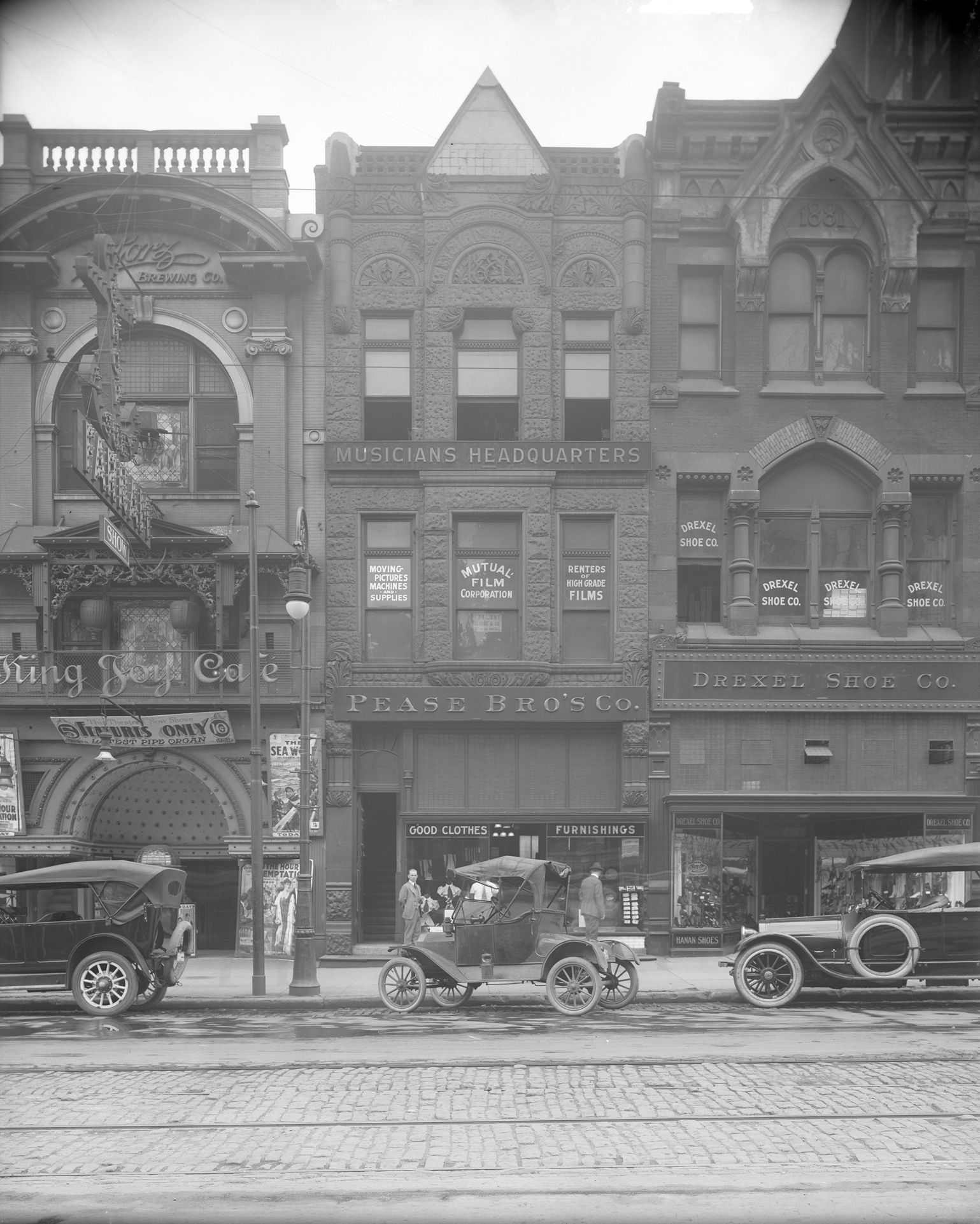 Then & Now: The Goodrich, Pease and Drexel Buildings