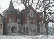 Snowy Castle at 1040 South 29th Street..