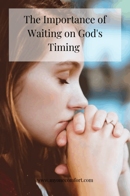 Waiting on God's Timing