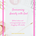 Overcoming Anxiety with God