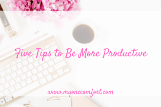 Five Tips To Be More Productive