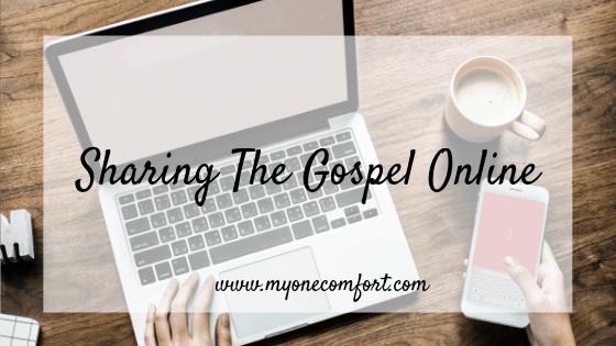 Sharing The Gospel Online