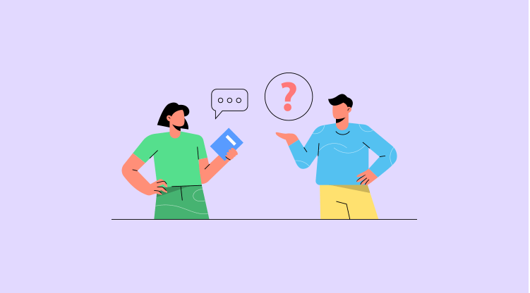 Cold calling tip #4 - Do not stop questioning [Illustration by MyOperator]